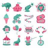 Circus Icon Set Stock Image