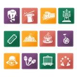 Circus  icons Stock Image