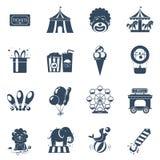Circus icons set Royalty Free Stock Photos