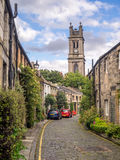Circus Lane in the New Town, Edinburgh Stock Image