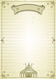 Circus letter Royalty Free Stock Images