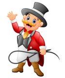 Circus man cartoon Royalty Free Stock Image