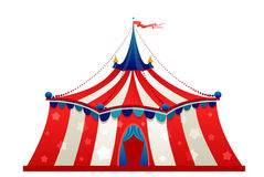 Circus marquee tent Stock Images