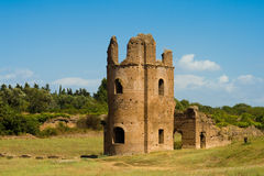 Circus of Maxentius in Rome Royalty Free Stock Photos