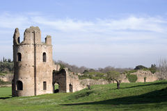 Circus of Maxentius ruins, Appian Way, Rome, Italy Stock Photography
