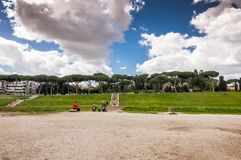 Circus Maximus of Circo Massimo in Rome stock fotografie