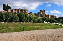 Circus Maximus and the Palatine royalty free stock photo