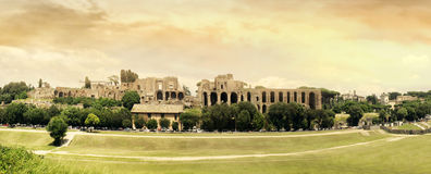 Circus Maximus Panoramic Royalty Free Stock Photos