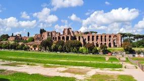 Circus Maximus in Rome, Italy royalty free stock photo