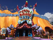 The Circus McGurkus. Located in Seuss land at Universal Studios Stock Photo