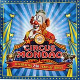 Circus Mondao Poster. A photo of the Circus Mondao poster with a clown Royalty Free Stock Image