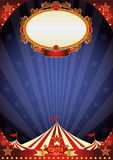 Circus night background Royalty Free Stock Images