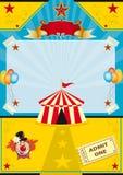 Circus op het strand Royalty-vrije Stock Foto's