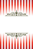 Circus ornaments background. Royalty Free Stock Photos