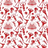 Circus Pattern Royalty Free Stock Photo