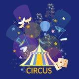 Circus performance concept circus show circus tent Stock Photos