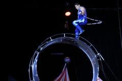 Circus performer Stock Photo