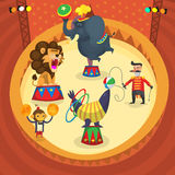 Circus performers Royalty Free Stock Photo