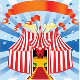 Circus and Pierrot Royalty Free Stock Photo