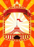 Circus poster vector illustration