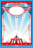 Circus poster. With space for text