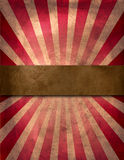 Circus poster. Grunge circus poster with middle place for text stock photo