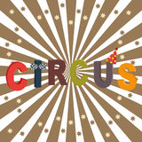 Circus poster background Stock Photo