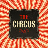 Circus poster background Royalty Free Stock Photo