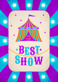 Circus poster Stock Photos