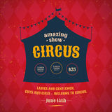 Circus poster Stock Photography