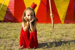 Circus Princess Royalty Free Stock Photography