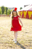Circus Princess Stock Photography