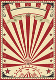 Circus red vintage royalty free illustration