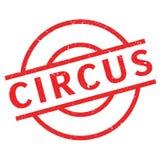Circus rubberzegel Stock Afbeeldingen
