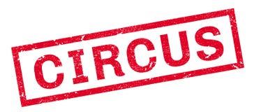 Circus rubberzegel Royalty-vrije Stock Afbeelding
