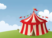 Circus Scene Royalty Free Stock Images