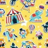 Circus seamless pattern Stock Photography