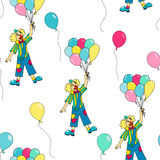 Circus seamless pattern. Royalty Free Stock Photos