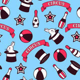 Circus seamless pattern Royalty Free Stock Photo