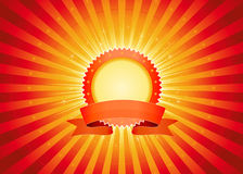 Circus Shiny Banner Royalty Free Stock Image