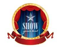 Circus show banner Royalty Free Stock Photos