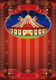 Circus show flyer Stock Photo