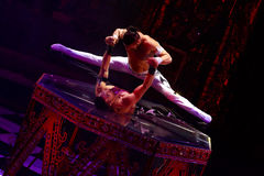 Circus show performance Baronets in Nizhny Novgorod Stock Photo
