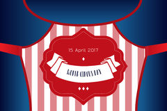 Circus show poster template Royalty Free Stock Image