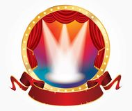 Circus show rain Royalty Free Stock Photography