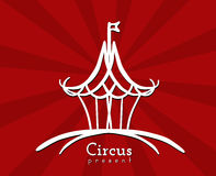 Circus Sign Royalty Free Stock Photo