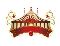 Circus signboard Royalty Free Stock Photos