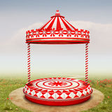 Circus stage Stock Photo