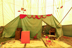 Circus stage traveling Royalty Free Stock Photography