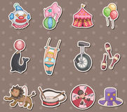 Circus stickers royalty free illustration